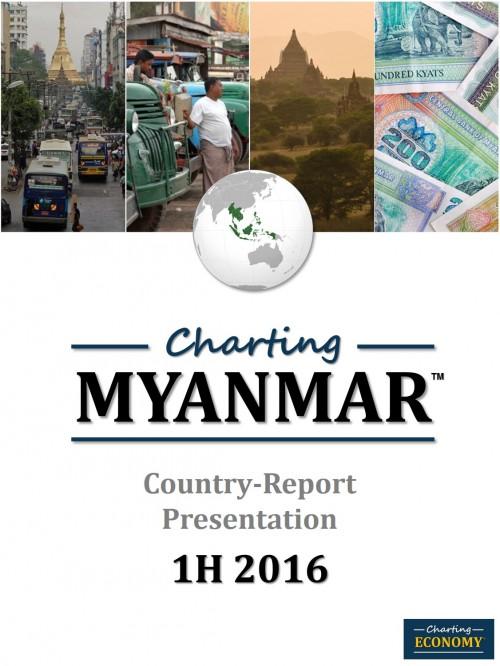 Charting Myanmar's Economy, 1H 2016